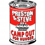 Preston and Steve Camp Out for Hunger